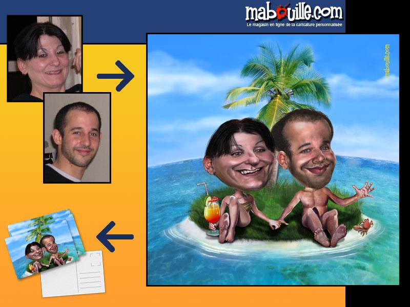 caricatures vacances ma bouille