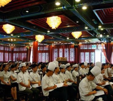 Le marche de la restauration  en Chine.