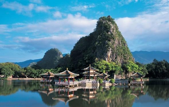Un Site de voyage yunnan