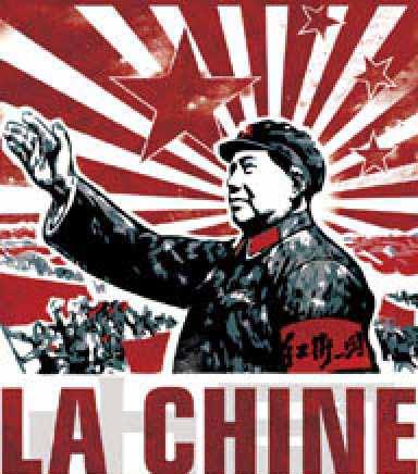 affiche mao chine