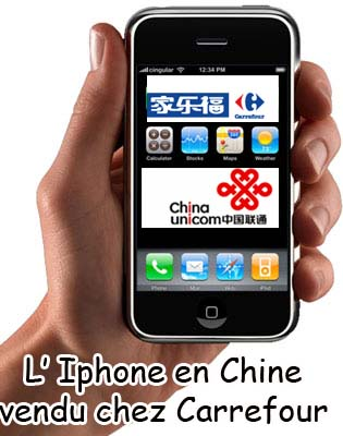 iphone Chez Carrefour