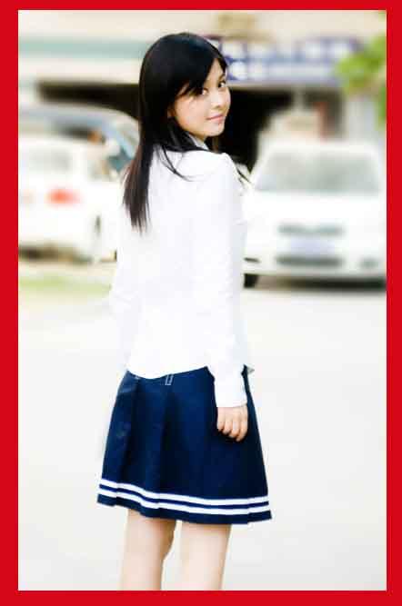 L'etudiante en Chine