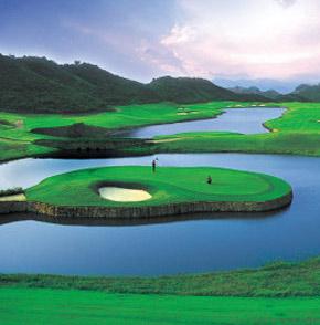 parcours de golf en Chine