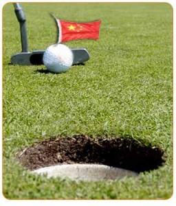 golf en Chine