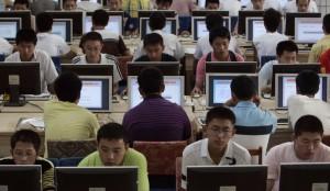 Chinois Cyber café