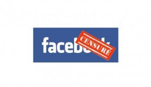 facebook censuré