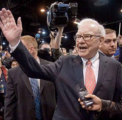 Le costume de warren buffet