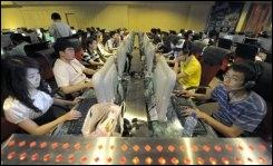 Chine Cyber café