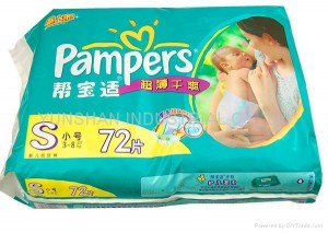 Pampers couche