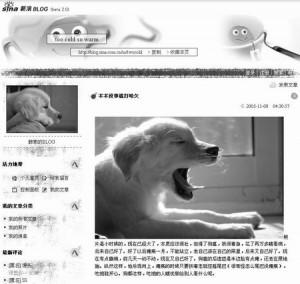 blog chinois