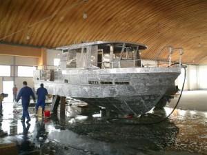 construction bateau aluminium dalian