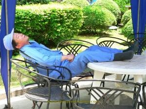 jardinier sieste chine