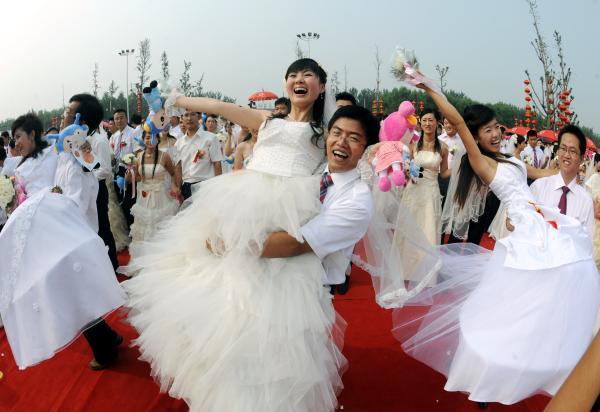 mariage en Chine