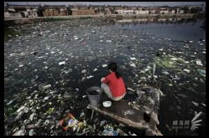pollution rivière chine