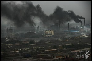pollution ville ouvriere chine