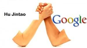 Bras de Fer google Hun jintao