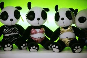 panda town bikini