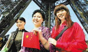 touristes chinois en france
