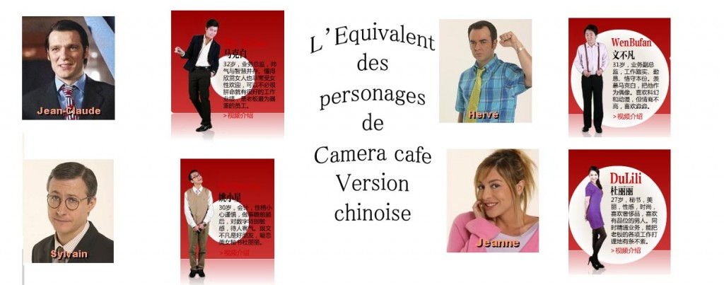 camera cafe personages