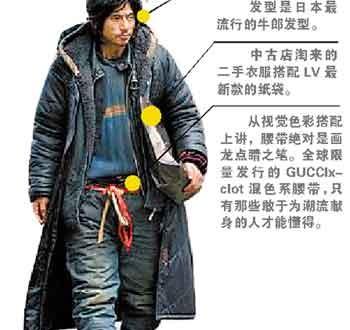 Un mendiant chinois fashion crée un buzz!