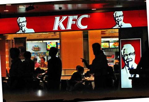 KFC shanghai