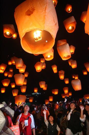 La f te des morts en chine la qingming jie - Lanterne chinoise papier ...