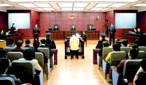 tribunal chine