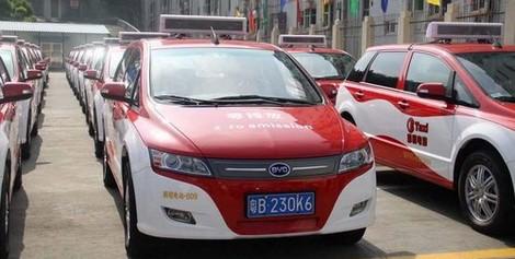 taxi electrique