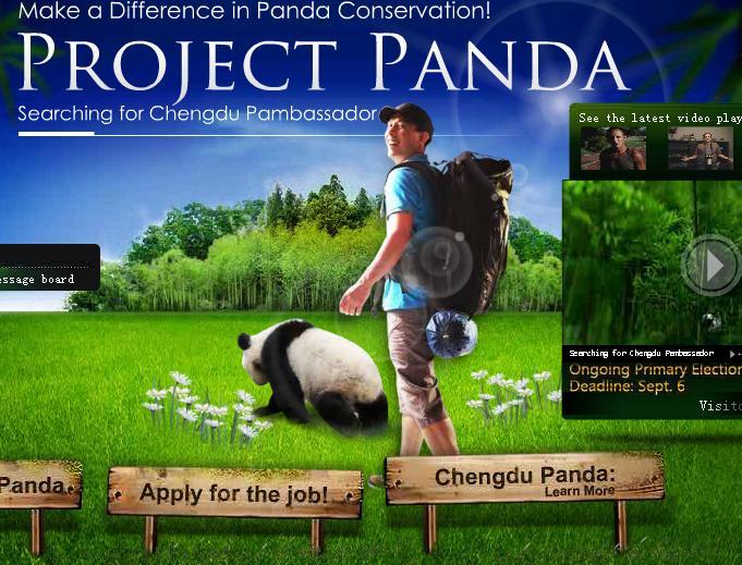 gardien de panda