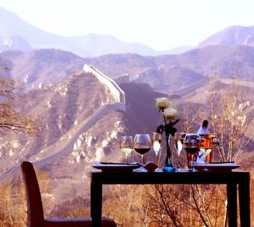 Un hotel sur la grande muraille de Chine
