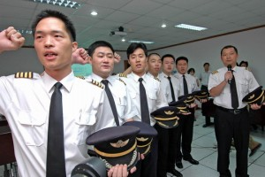 pilote avion chinois