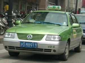 taxi santana chine