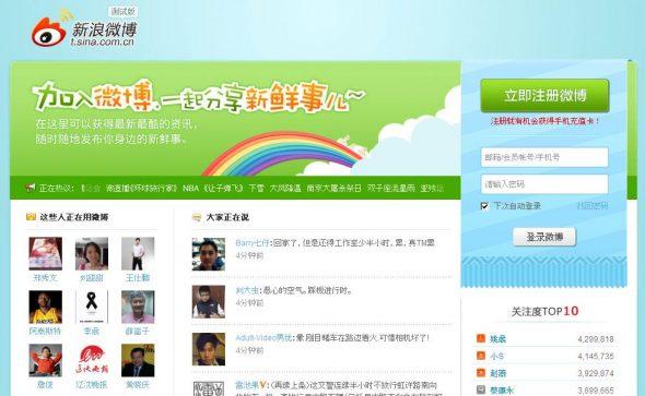 Sina Weibo: gestion de compte, marketing sur Weibo