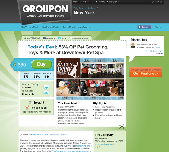 CRM, Retail, Marketing Strategy and Beyond: Has Groupon A Future ?
