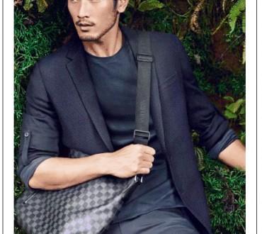Le premier mannequin chinois pour une publicité de Louis Vuitton.