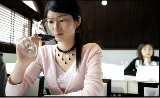 L éducation du vin en Chine