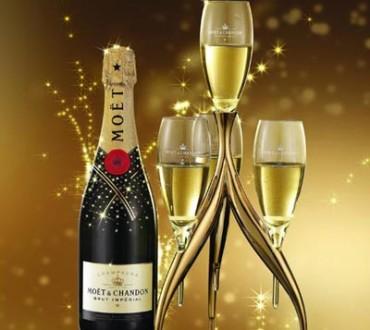 Le Champagne en Chine 1million de bouteilles vendues par an