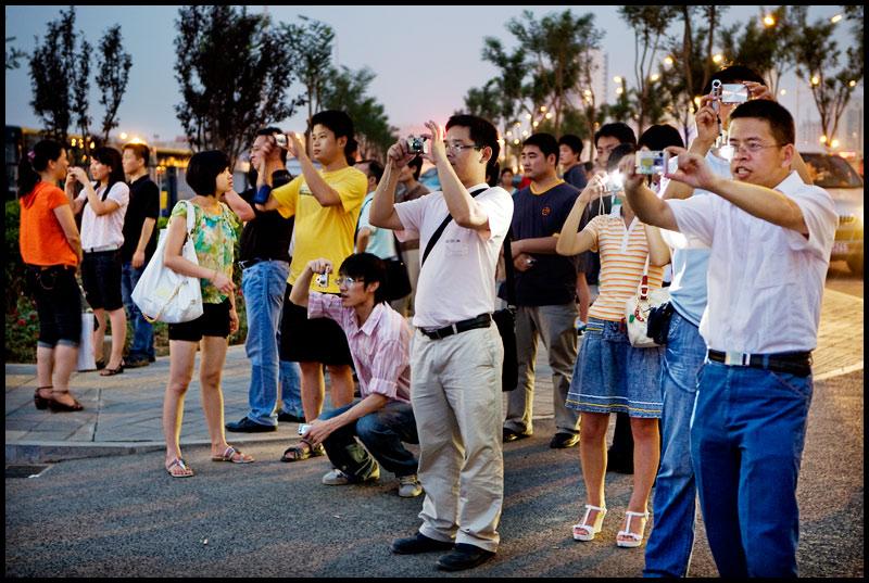 touristes chine