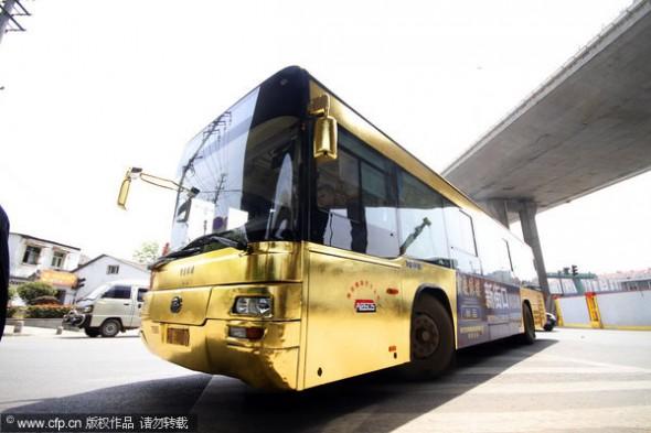 L'opération de Buzz bus en or en Chine