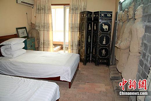 Un Hotel spécial à Xian