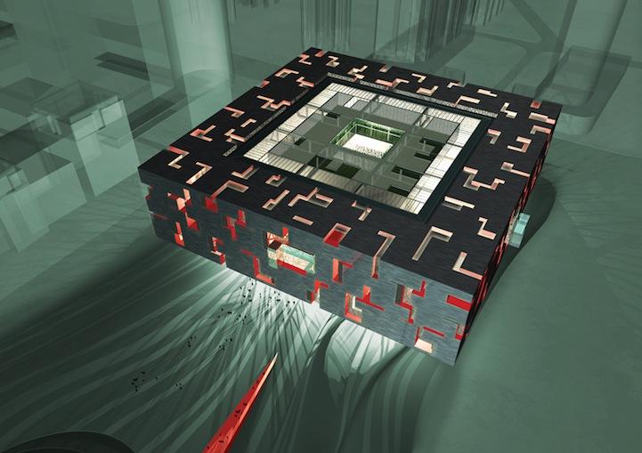 Le nouveau musée de Canton