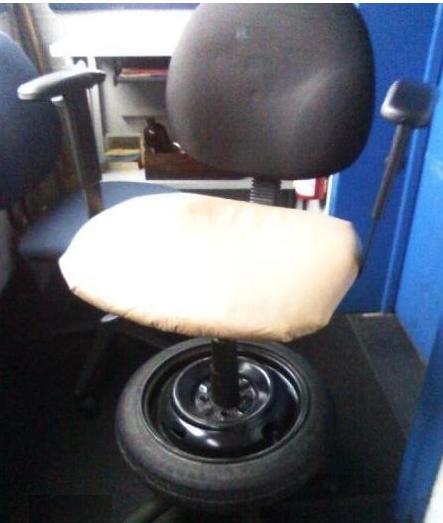 chaise pneu