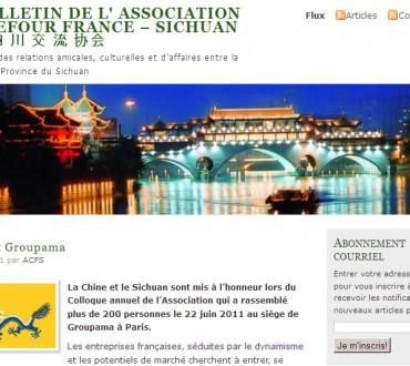 L'Association Carrefour FRANCE – SICHUAN