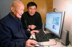 Internautes agés en Chine