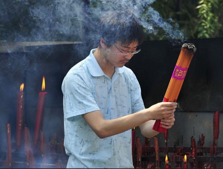 prière avant gaokao
