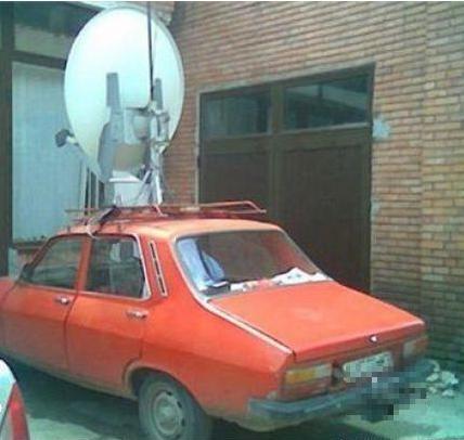 satelite voiture