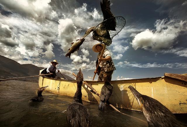 La pêche de montagnes selon les nouvelles places