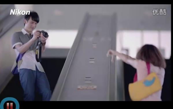 Publicité online pour Nikon