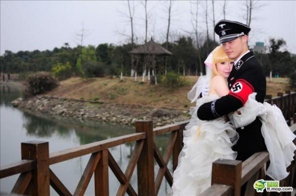 Les photos polémiques de cosplay en Nazi