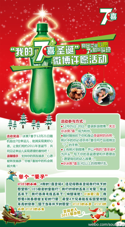 7up: une marque bien intégrée sur les réseaux sociaux en Chine